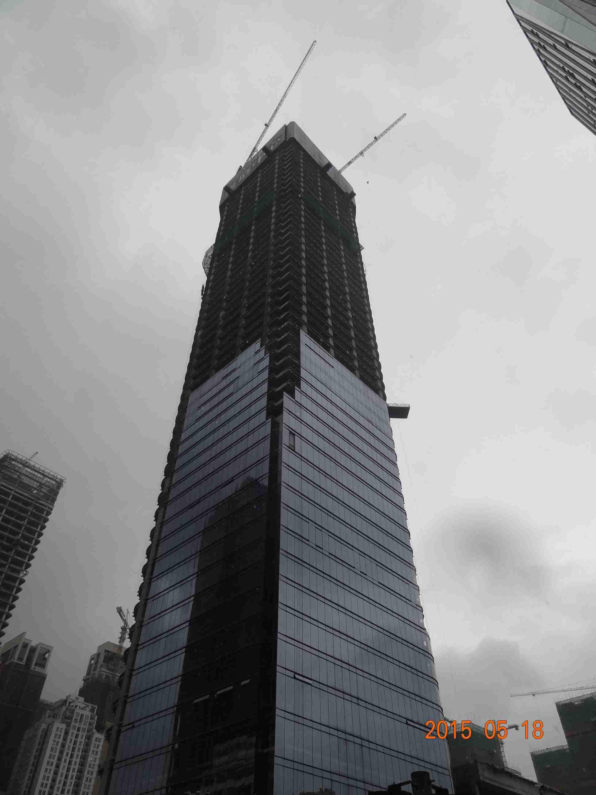 深圳岗厦大厦雨水收集系统工程